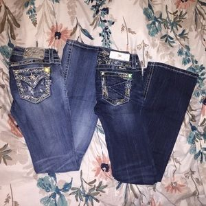 Miss me jeans size 12.